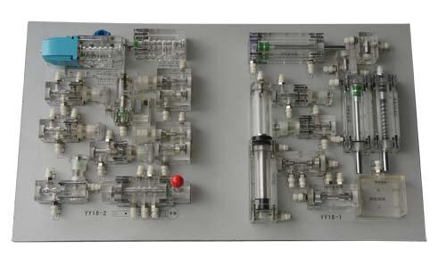 液压传动插孔式演示装置图片
