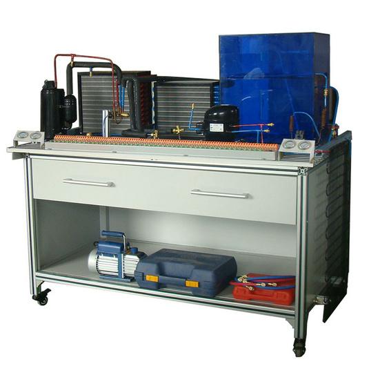现代制冷与空调系统技能实训装置,制冷制热考核实训台