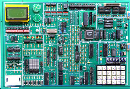 步进电机,温度,压力传感器电路;电子音响电路;6位led动态数码显示