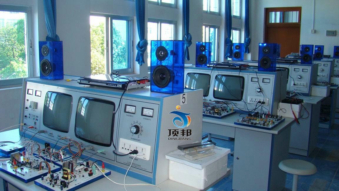 智能视听家电多功能实验设备(DVD七合一)