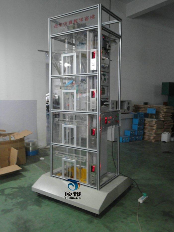 四层电梯模型