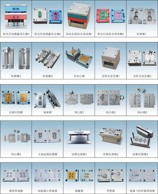 铝合金模具拆装模型