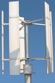 300W风光互补离网发电实验系统