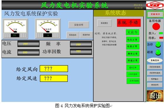 大型双馈风力发电实验系统