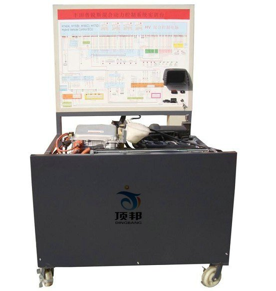 各传感器及执行器安装数字显示表,台架安装燃油压力表与真空表,带