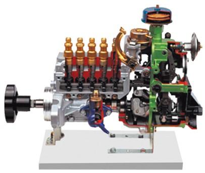 离心控制喷射泵解剖模型