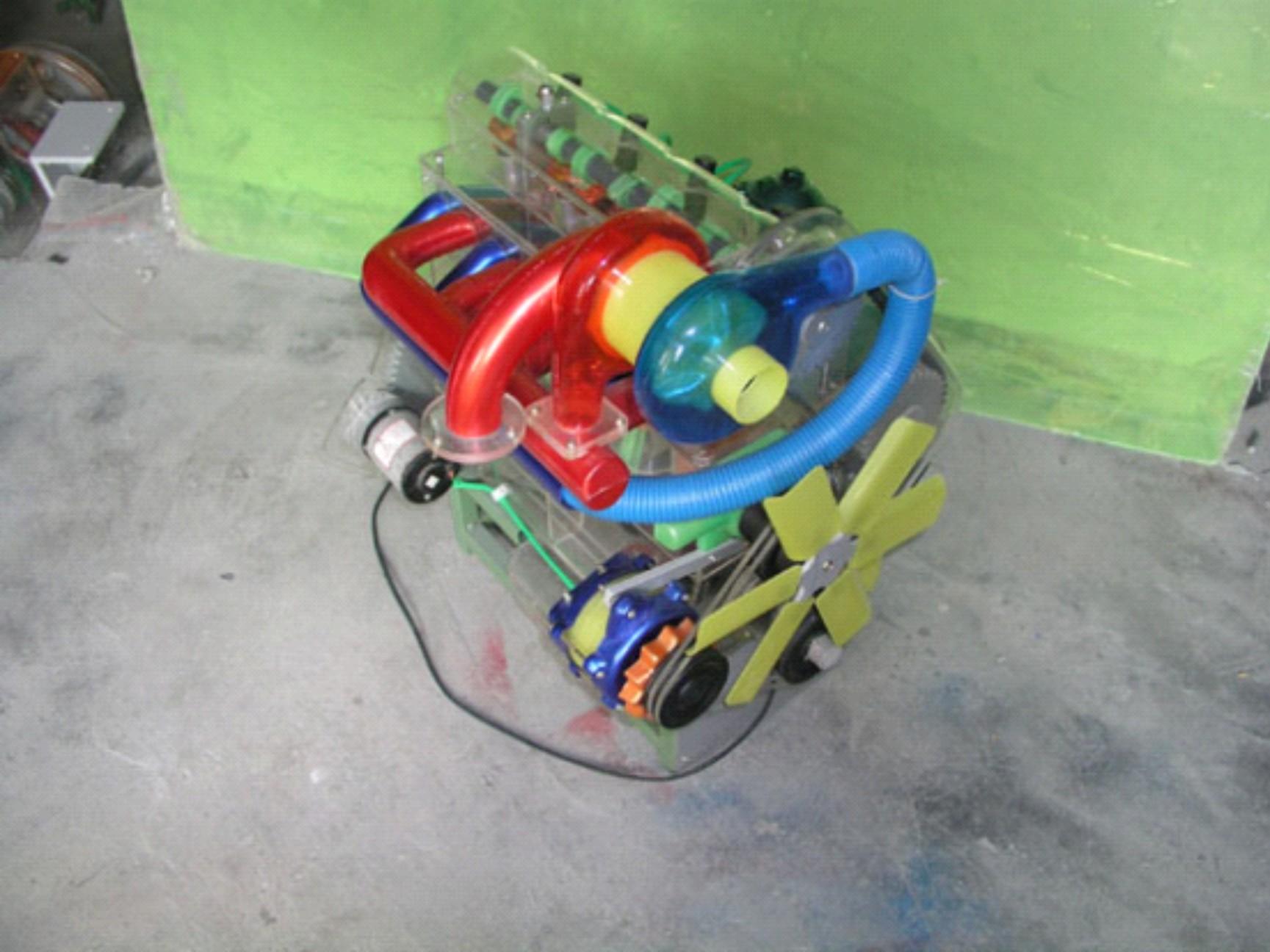 EVICO发动机模型