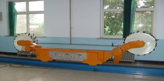 采煤机演示模型