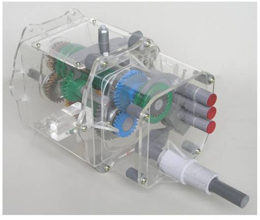 桑塔纳变速器模型