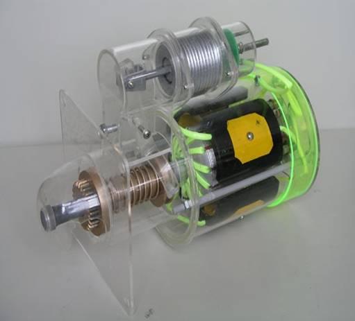 磁电式起动机模型