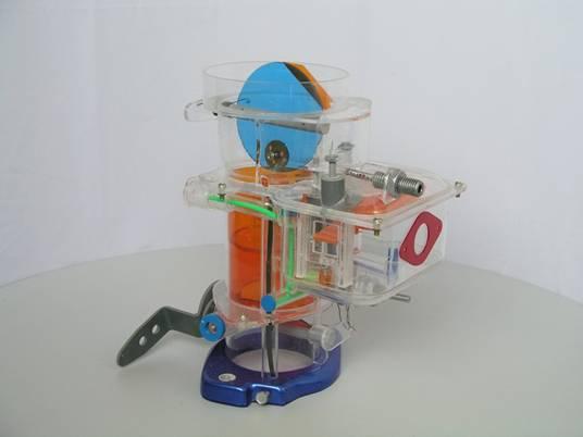 东风102型化油器模型