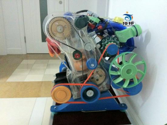 奥迪a6发动机教学模型