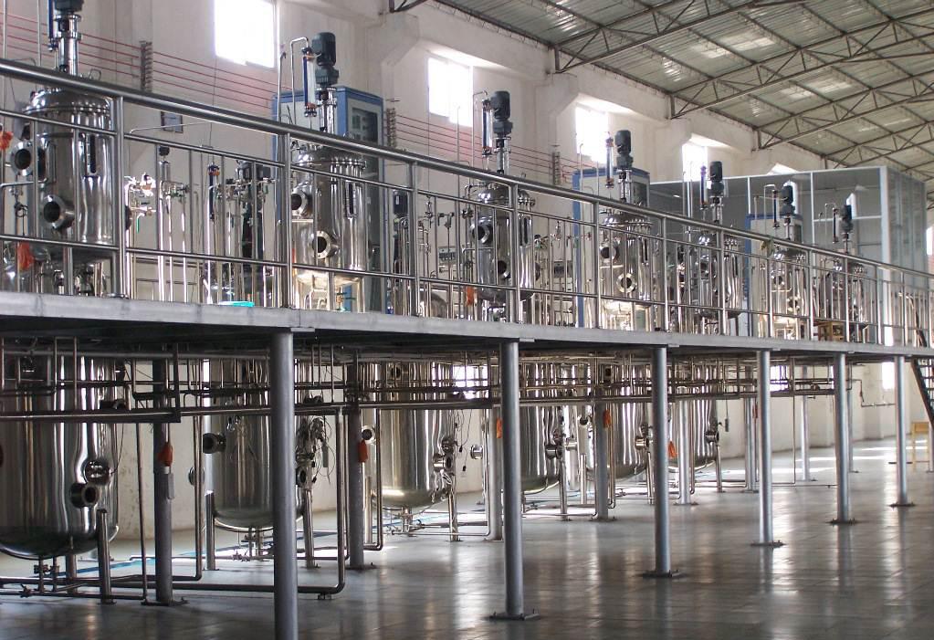 全自动多联不锈钢发酵罐―大型发酵车间