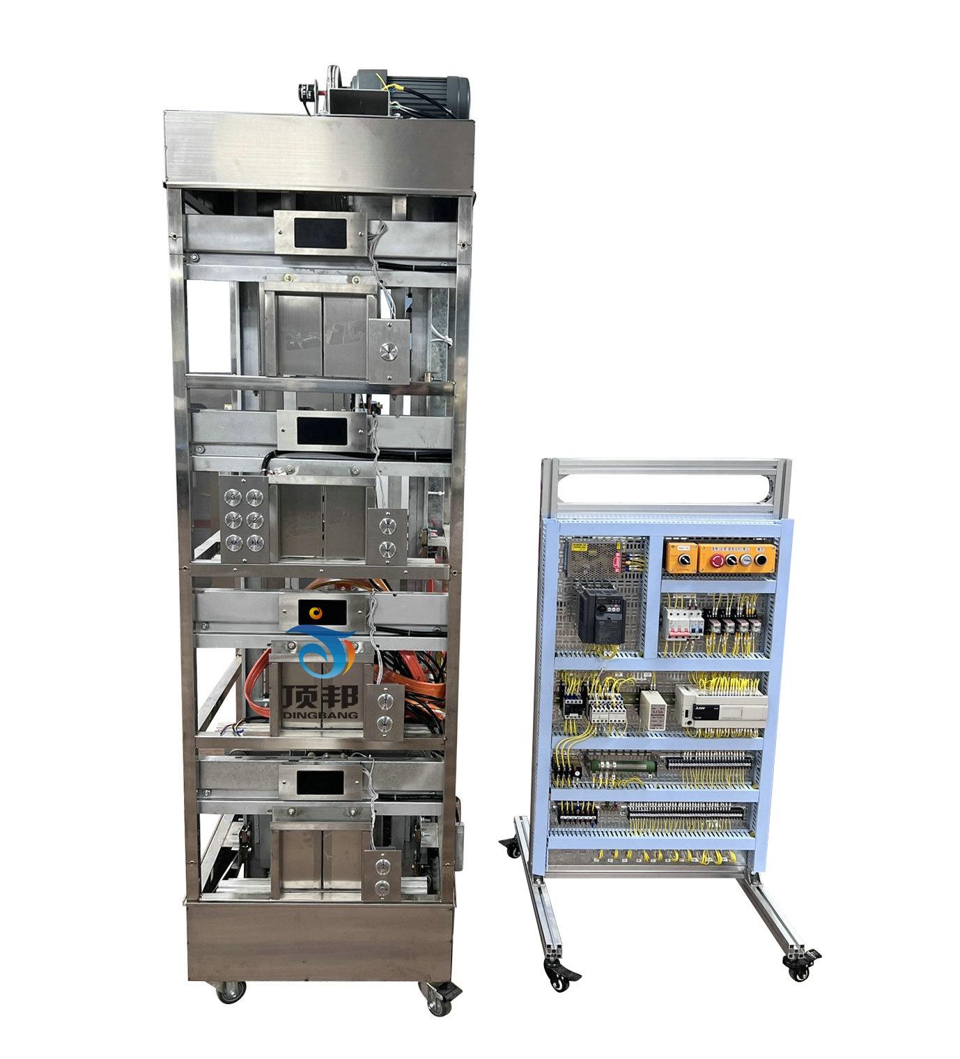 四层实物电梯实训考核设备