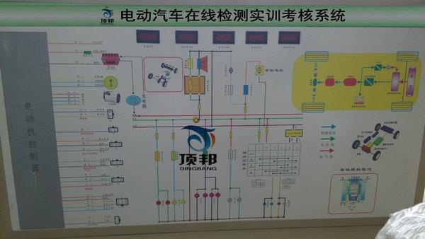 电动汽车在线检测实训考核系统-上海顶邦公司