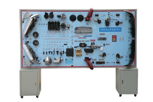 自锁220v电路实物接线图