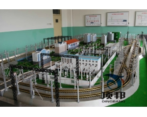 城市轨道交通牵引供电沙盘模型