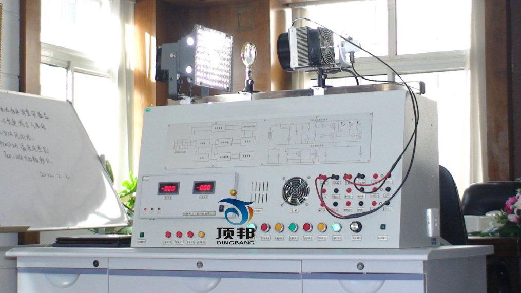 一、试验内容 1.半导体的电流电压特性研究; 2.太阳能电池基本特征参数研究(开路电压、闭路电流、功率因子测定预分析); 3.环境参数对太阳能电池的影响研究(温度特性); 4.太阳能电池的光谱响应特征研究(八组单色滤色片); 5.不同基材(硅电池、薄膜电池,染料敏化电池)太阳能电池特性对比研究; 6.