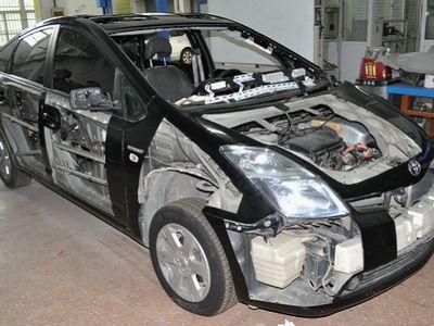 db-5012 新能源汽车整车解剖模型