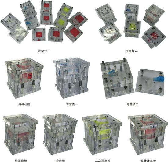 液压注塑机模型