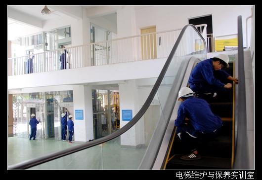 电梯维护与保养实训室