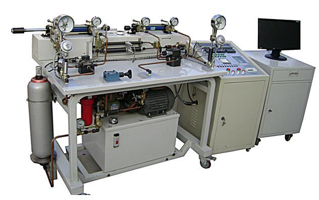在液压技术实验教学环节中,伺服阀的静态,动态 性能测试能够让学生图片