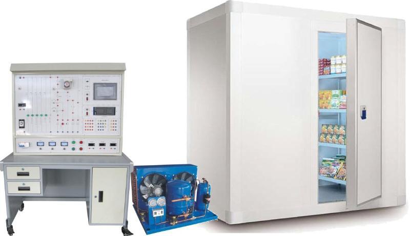 冷库的压缩机配电箱电路图