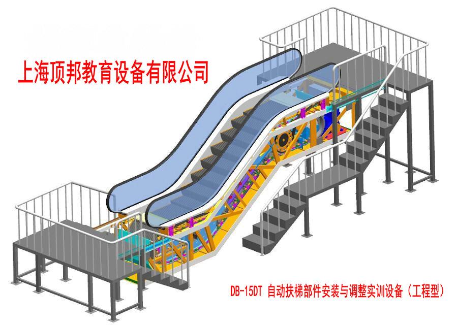 四,自动扶梯的结构特点  1.