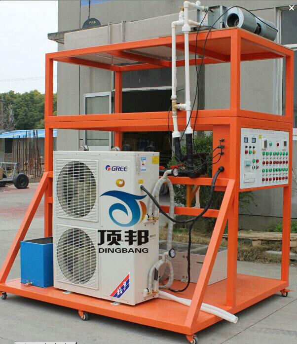 6,风管式空调机组电路实训     四,主要特色     1,真实的场景,真