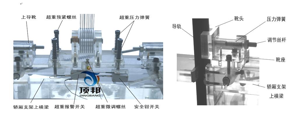 电梯部件模型