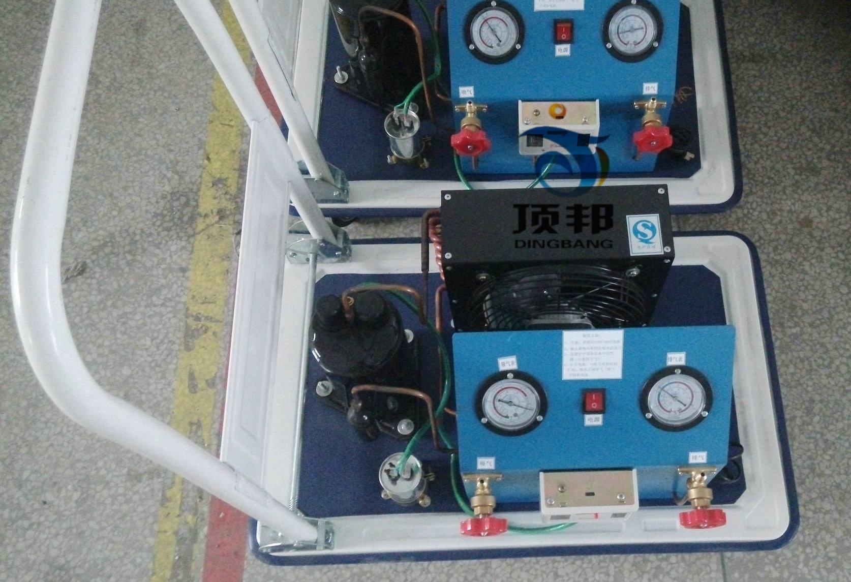 空调加压、抽真空、制冷剂回收实训装置