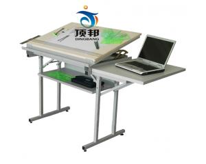 豪华型固定式绘图桌(配放置计算机桌板)