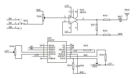 非同步正弦波信号发生器电路图