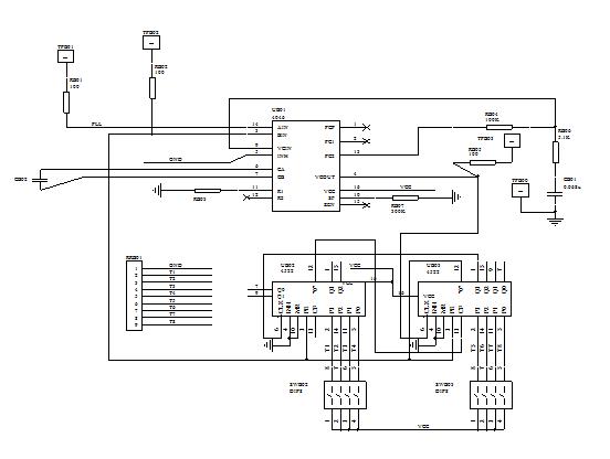VCO电路电原理图