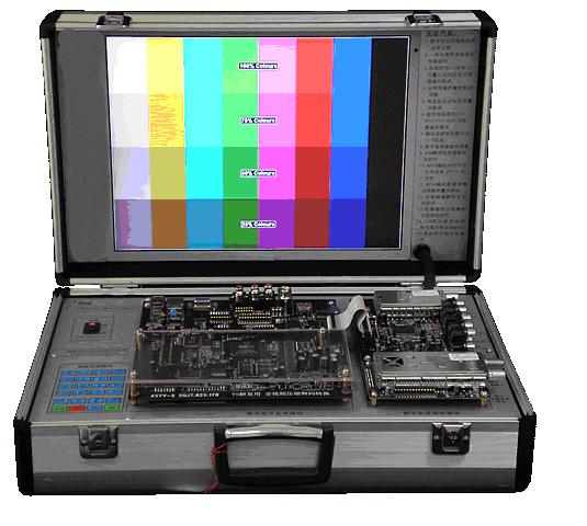 数字电视实验箱