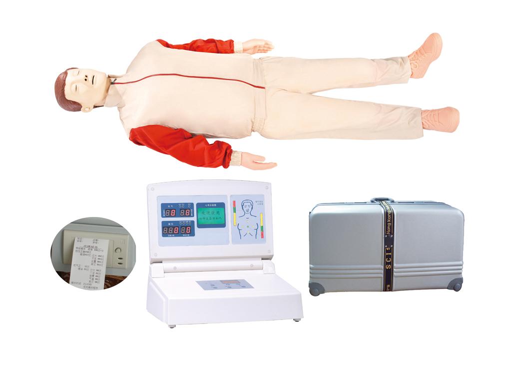 液晶彩显高级电脑心肺复苏模拟人