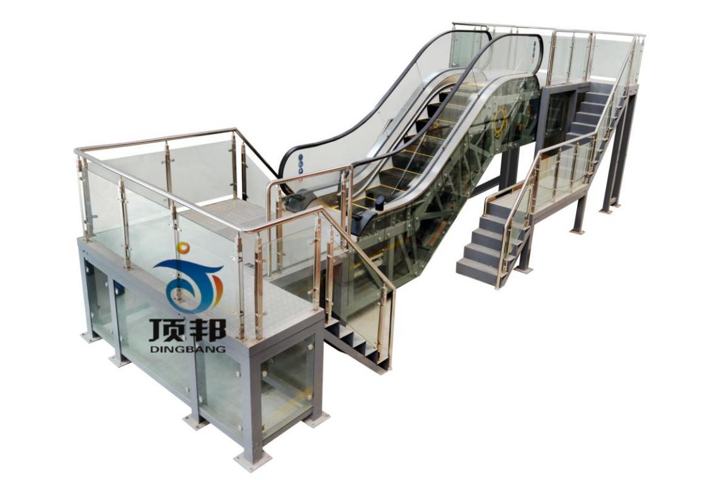 3,实验台:面板上安装有电压和电流监控表,可以实时直观地观察电梯