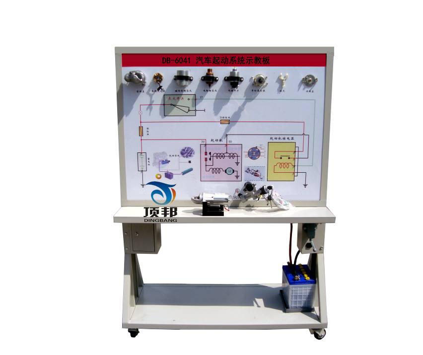 可直接在面板上检测汽车起动系统各电路元件的电信号