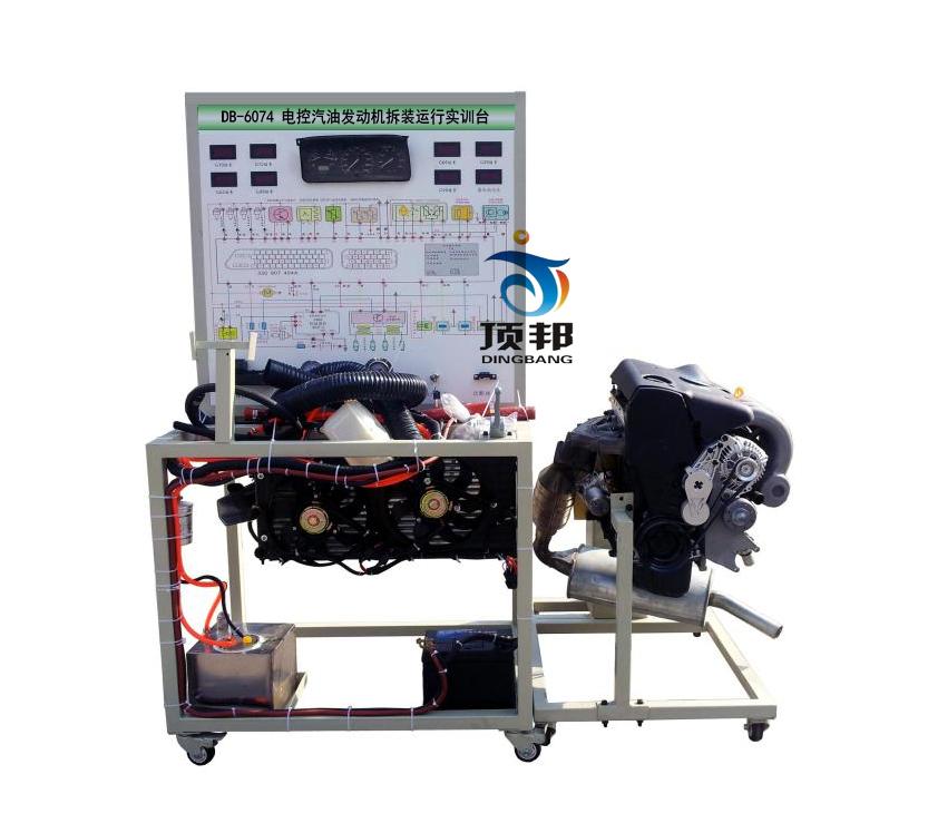 电控发动机拆装运行实训台,汽车发动机拆装台