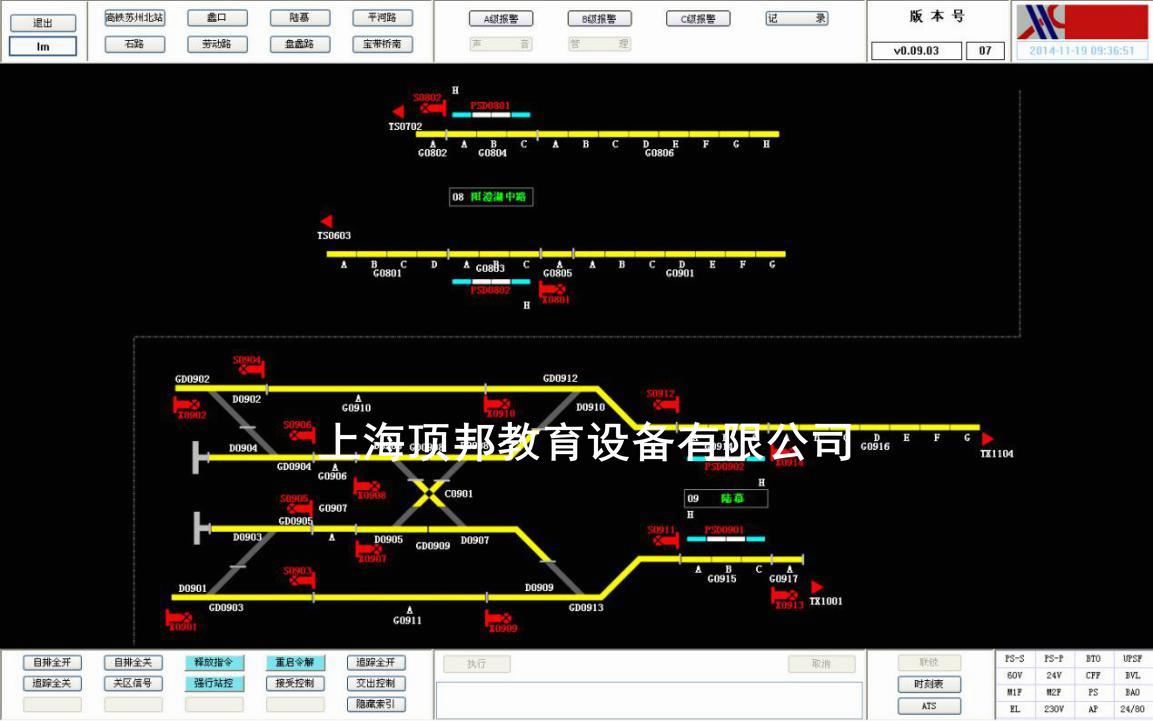 车站轨道电路图