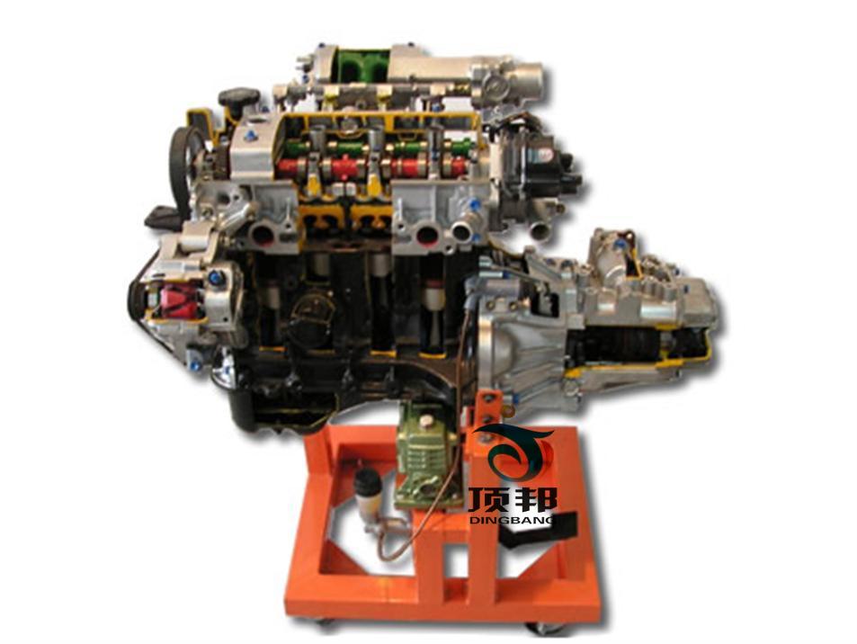 汽车发动机与变速器系统结构理论和维修实训的实训教