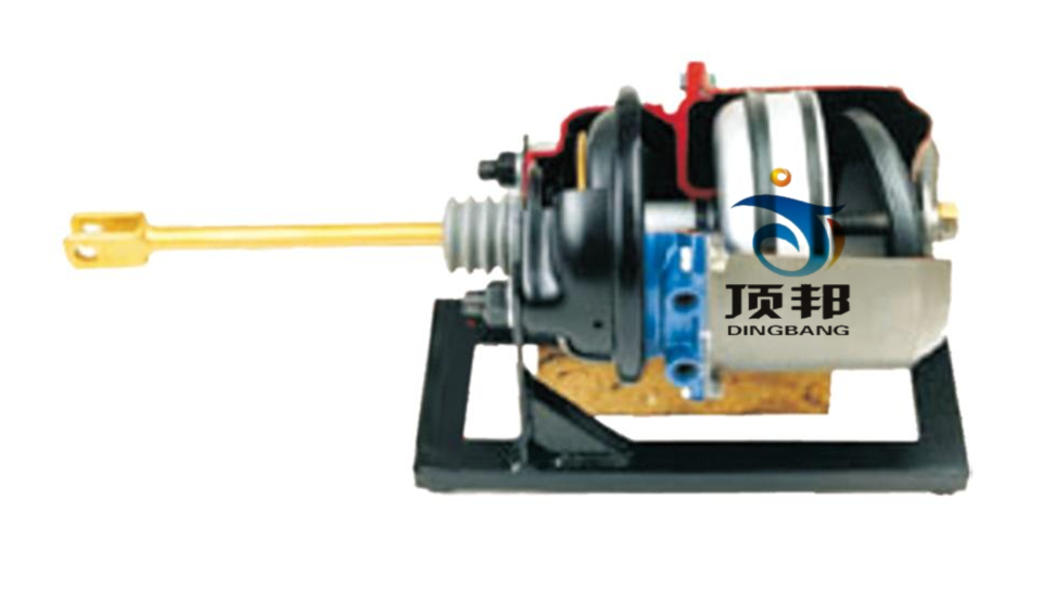 气压制动弹簧加载制动缸解剖模型