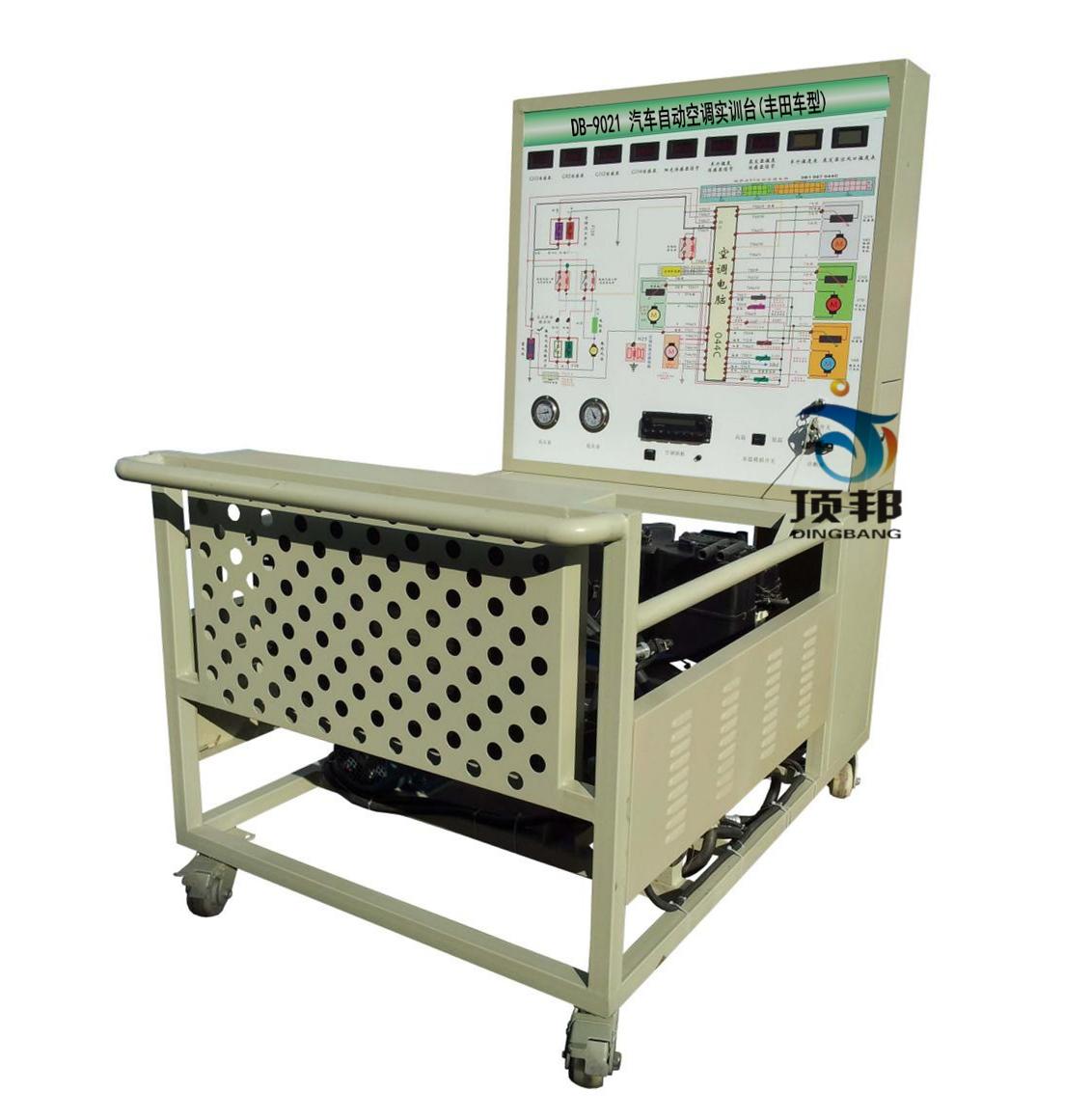 空调实训台(丰田车型)采用原汽车自动空调系统为基础