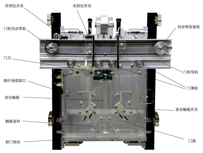 电梯轿厢照明控制电路图