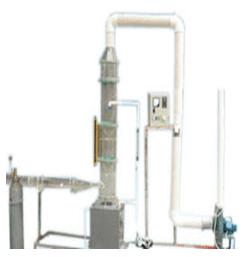 旋流板塔气体吸收实验装置