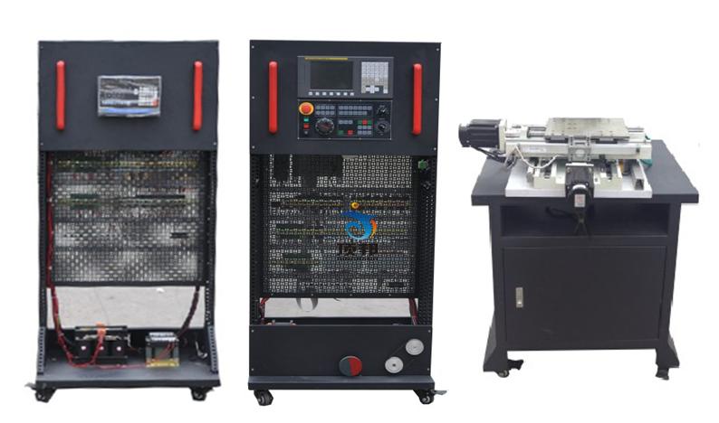 (3)变频调速系统的电路设计,变频器,主轴电机,编码器的安装与接线