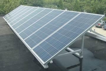 太阳能电池组件阵列