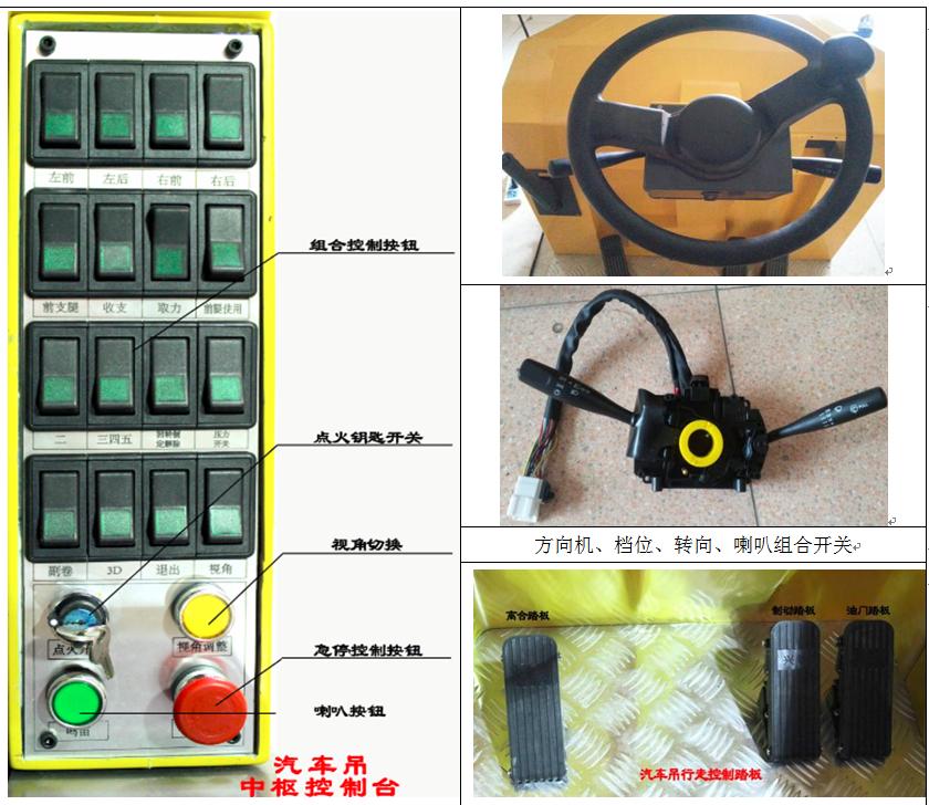 汽车起重机模拟教学仪硬件
