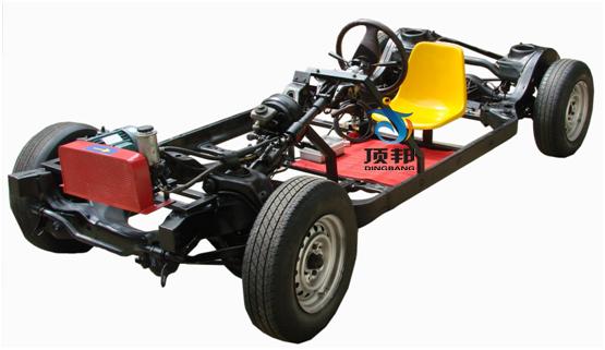 8l(手动档)汽车底盘各系统为基础,充分展示汽车底盘各系统的组成结构.