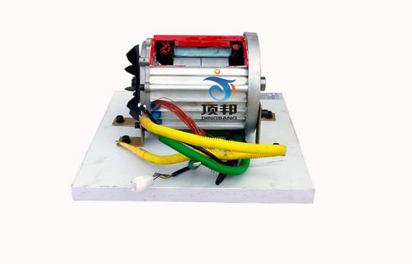 纯电动车直流无刷电机解剖模型